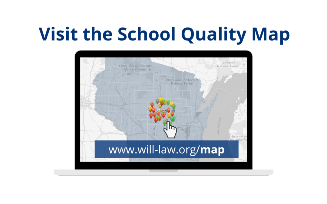 WILL Launches Wisconsin School Quality Map
