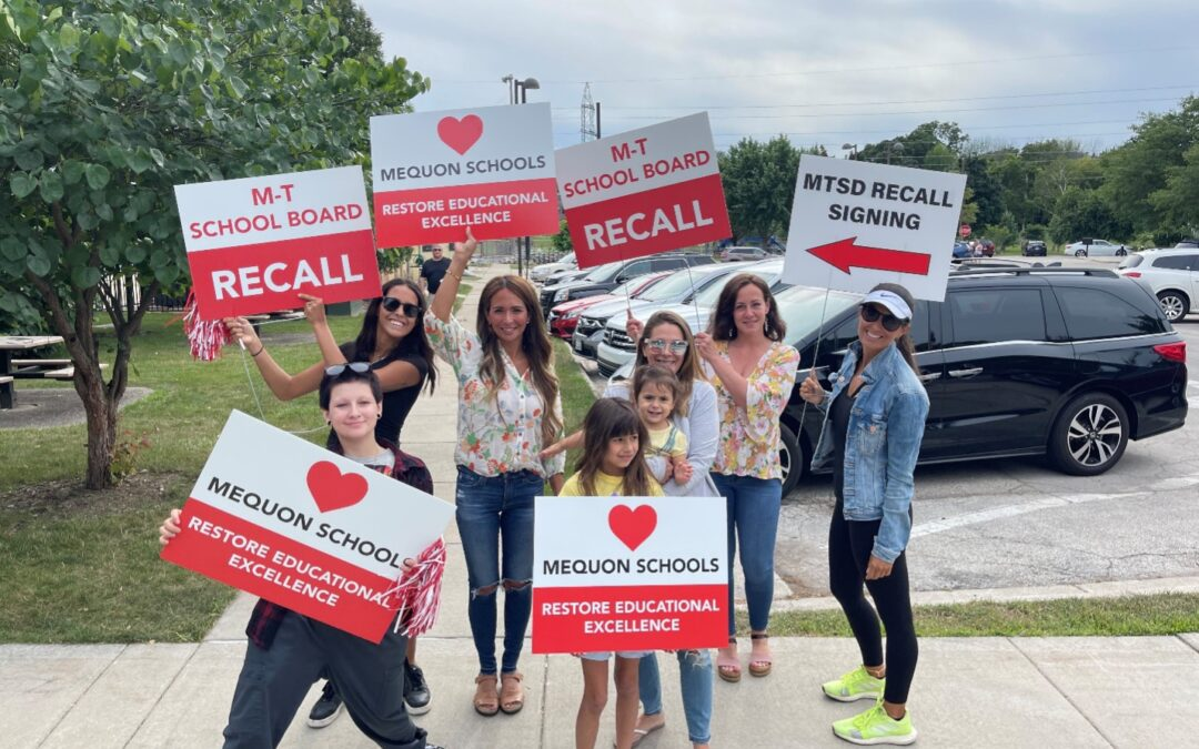 City of Mequon Will Not Enforce Sign Ordinance Against Recall Organizers, Commits to Review