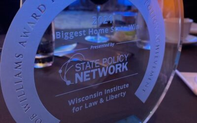 WILL Earns Award from State Policy Network for Legal Victory That Opened Dane County Schools