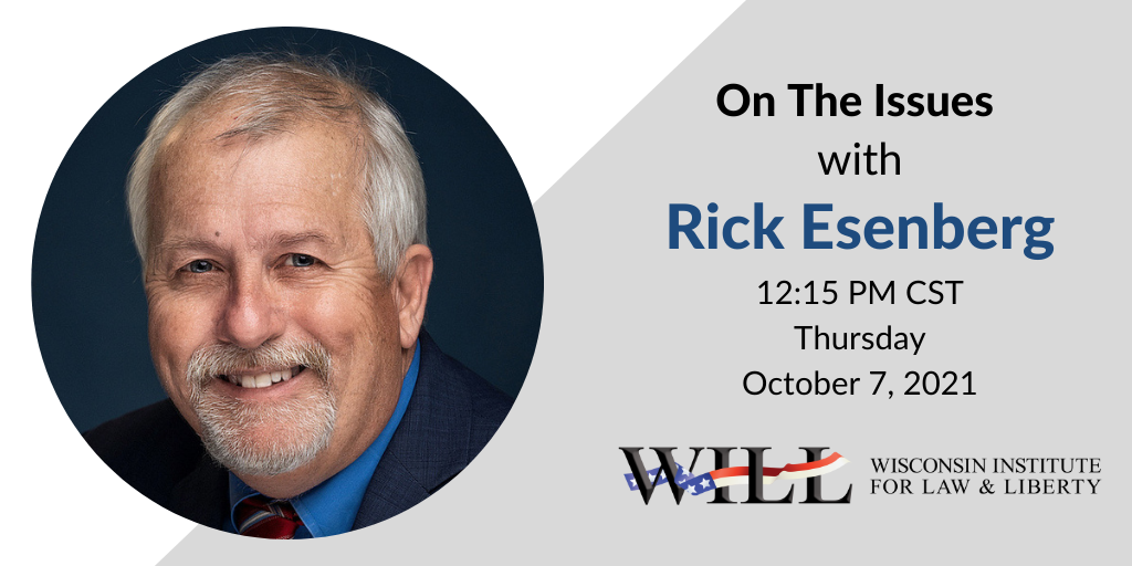 Rick Esenberg Joins Mike Gousha for 'On The Issues'